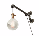 Industrial Pipe Wall Light