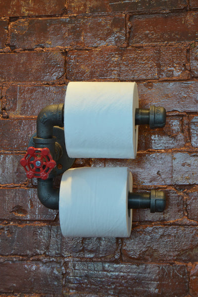 Industrial Toilet Paper Holder | Double