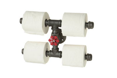 Industrial Toilet Paper Holder | Quadruple