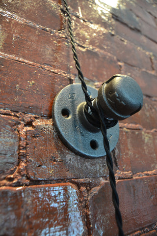 Double Pulley Wall Light West Ninth Vintage