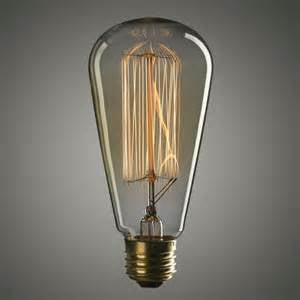 Vintage Edison Bulb for Industrial Lighting - 60 Watts - 120V - single bulb