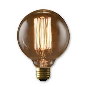 1x  60 Watt ROUND Edison Bulbs for Industrial Lighting - 60 Watt Bulbs (1bulb)