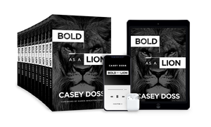 Bold As A Lion - Small Group Package (Pre-Order w/ Bonuses)