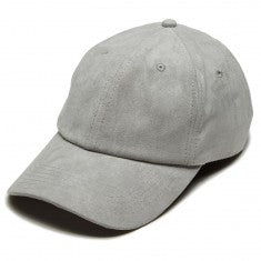 Suede Dad Hat- Grey