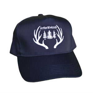 BIG ANTLERS 5-PANEL SNAPBACK - NAVY