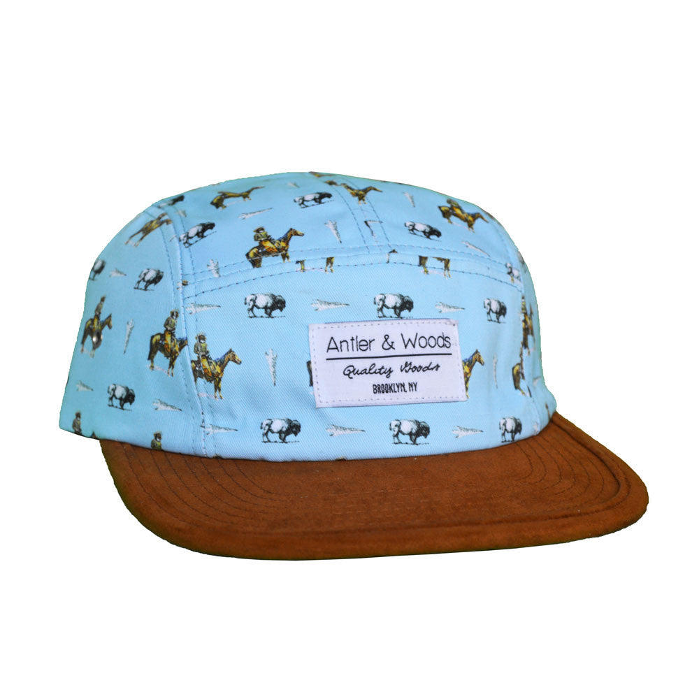 THE FRONTIER 5-PANEL - SKY BLUE