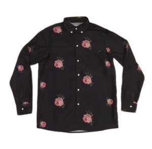 rose button up