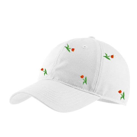 Late Bloomer Baseball Cap - White