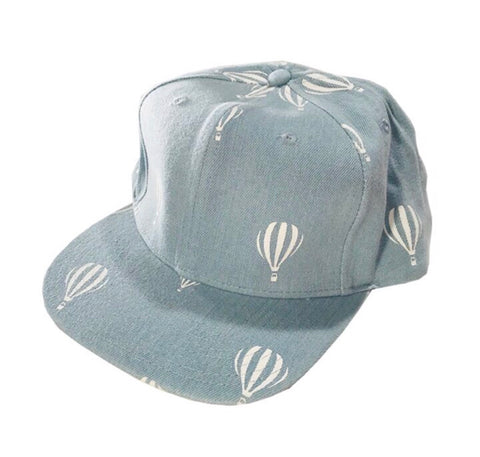 Hot Air Balloon Snapback - Blue