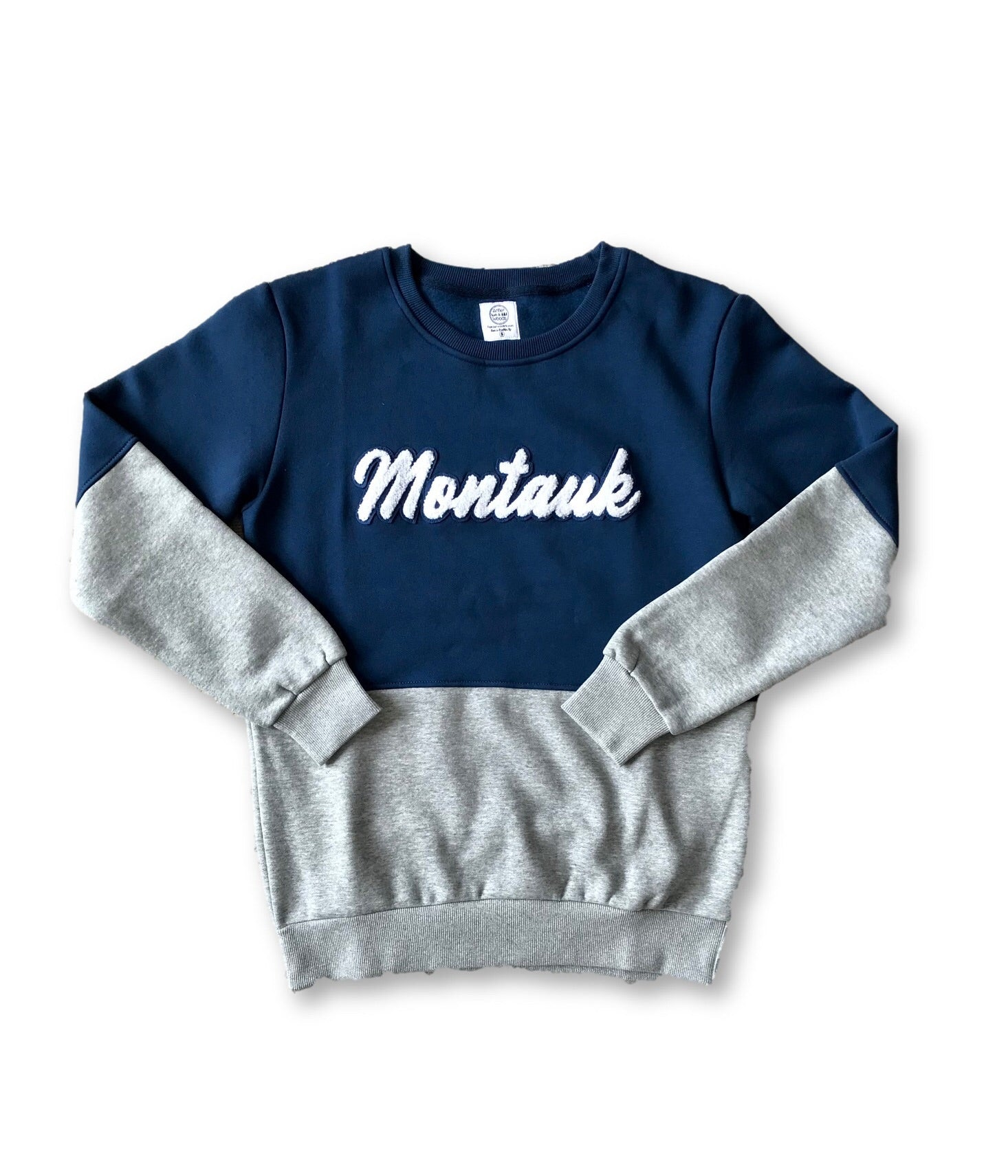 Montauk Fleece Letterman Sweatshirt