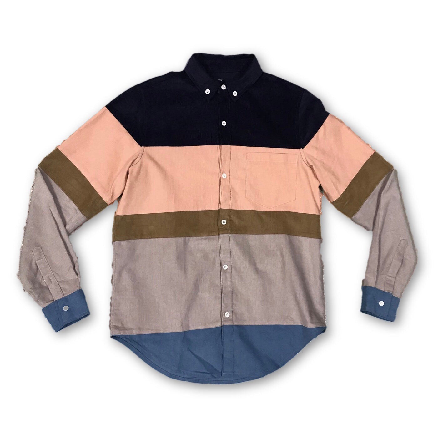 Catskill Corduroy Button Up - Multi