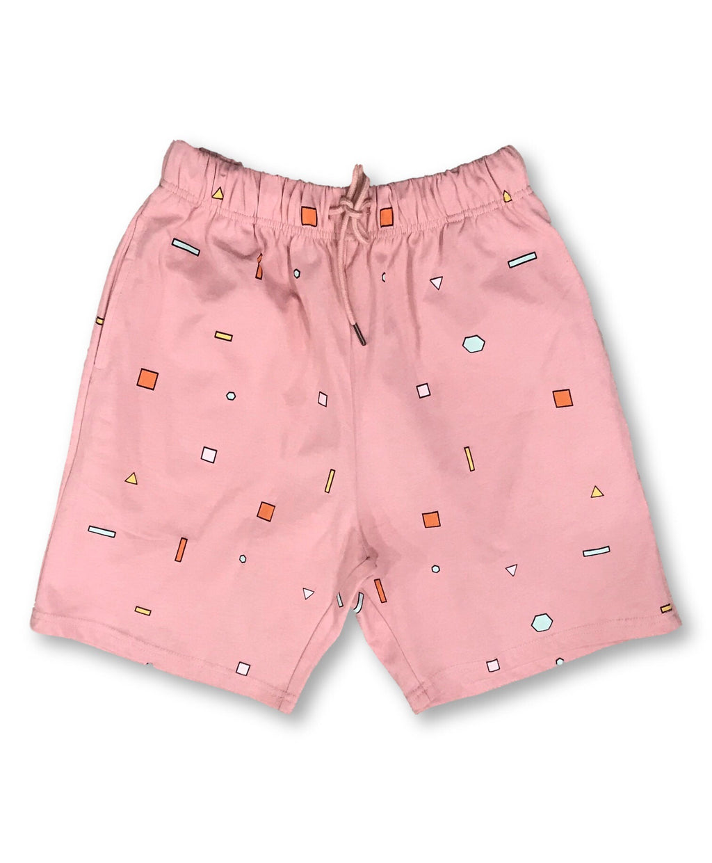 Scatter Shapes Shorts - Salmon