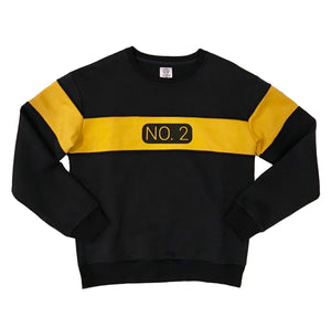 No. 2 Pencil Crewneck - Black