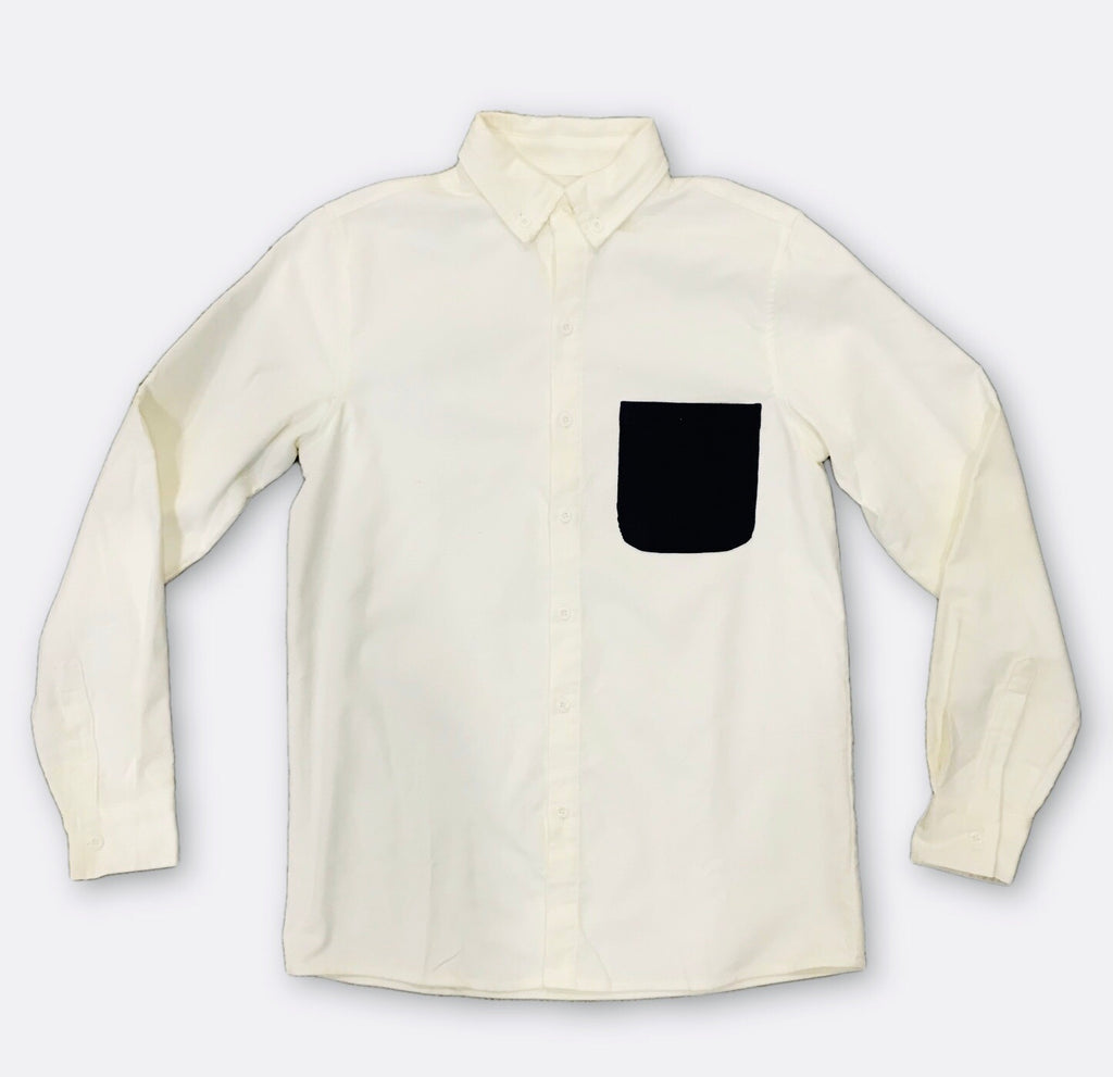 Catskill Corduroy Button Up - White