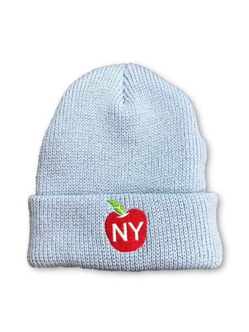 Big Apple Beanie - Light Blue
