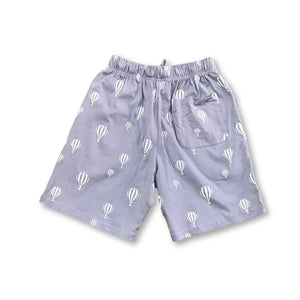 Hot Air Ballon Shorts - Blue