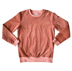 Kingston Corduroy Crewneck - Salmon