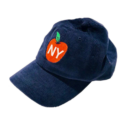 NY Apple Corduroy Hat