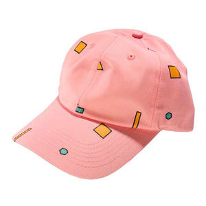 Scatter Shapes Hat - Pink