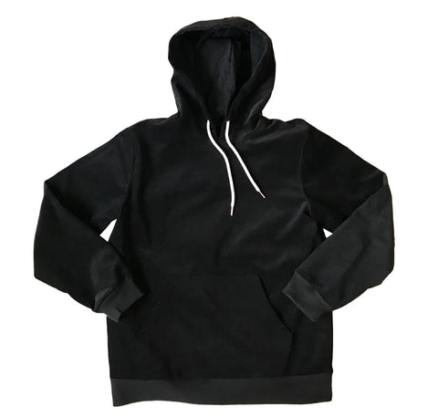 Kingston Corduroy Hoodie - Black