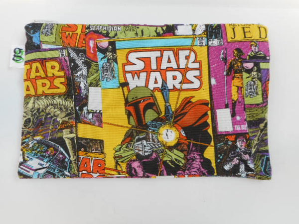 Reusable Zipper Snack Bag / gadget Star Wars The Empire print - groovygurls