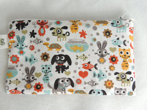 Reusable Zipper Snack Bag Eco-Friendly Dogs Cats Fish Bunny