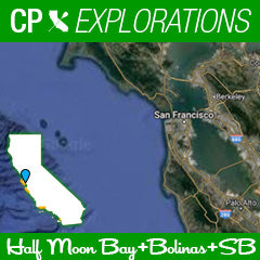 CP Explorations - Half Moon Bay, Bolinas and a whole lot of in between