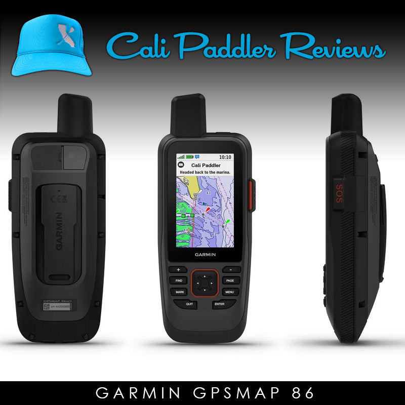 CP Review - Garmin GPSMAP 86 Review for Paddlers