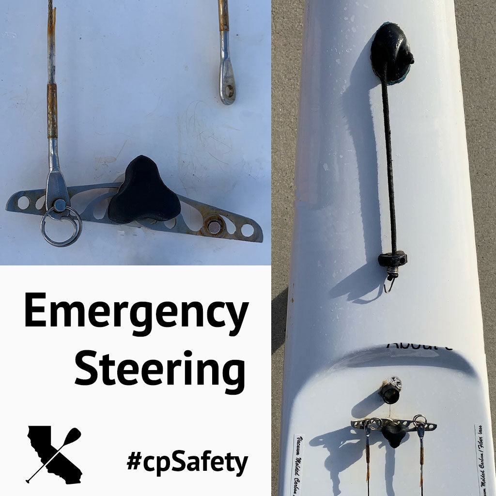 Emergency Steering - DIY Rudder Cable Backup System for OCs and Surfskis