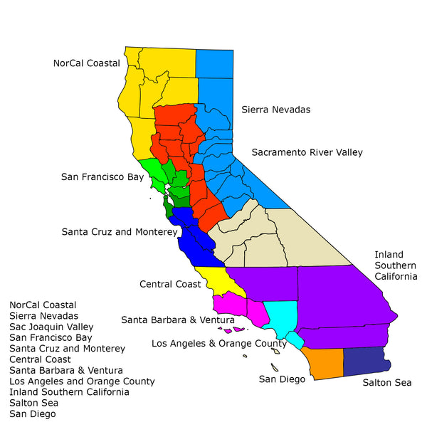 Cali Paddler Regional Chapters