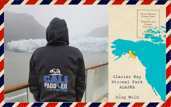 Cali Paddler in Alaska