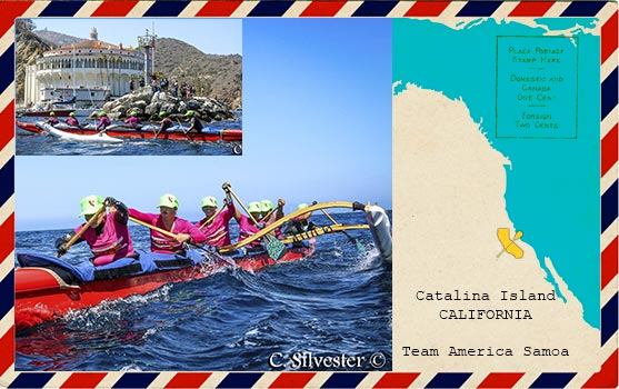 Cali Paddlers in Catalina