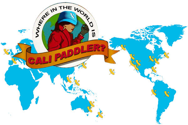 Where in the world is Cali Paddler