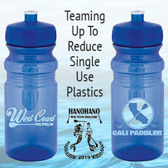 West Coast Paddle Sports and Cali Paddler Offer Reusable Water Bottles