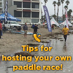 Hosting a Paddle Race Tips