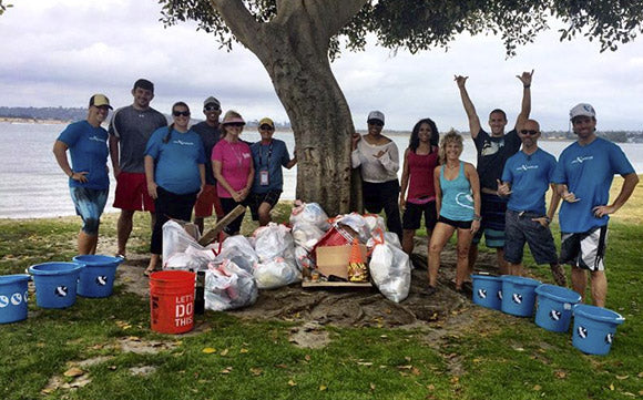 Cali Paddler Beach Cleanup