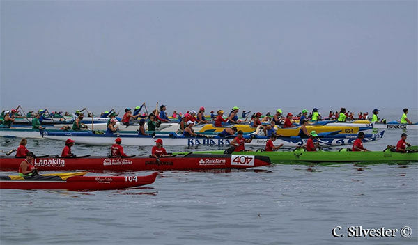 NorCal Junior Paddlers Oceanside Outrigger Race