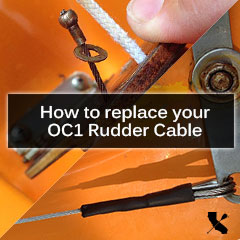 OC1 Rudder Cable Repair