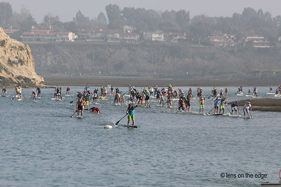 Sup and Prone Paddleboard Race
