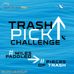 Cali Paddler Trash Pickup Challenge