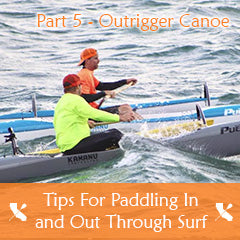 Surfski Tips For Paddling In and Out Through Surf