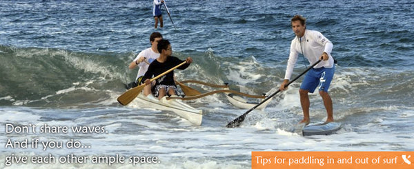 Paddle in Surf Tips
