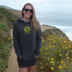 Wilder Sunflower Carbon Long Pullover Hoodie