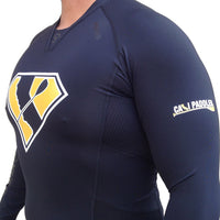 Super Paddler VIRUS Compression Black Long Sleeve