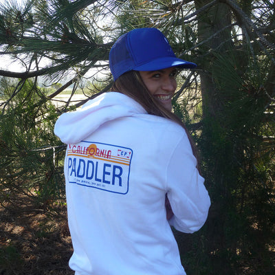 PADDLER License Plate Sweatshirt