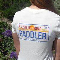 PADDLER License Plate Baby Doll Shirt