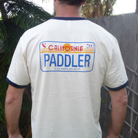 PADDLER License Plate Crew Shirt