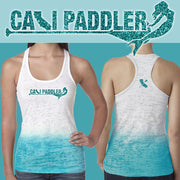 Glitter Mermaid Burnout Racerback