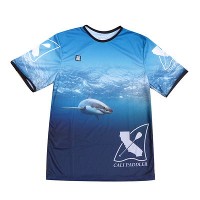 Shark Paddle Jersey T-Shirt