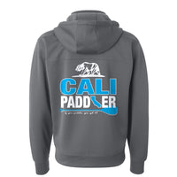 """CALI-PADDLER"" Poly-Tech Water-Resistant Hooded Zip Jacket"
